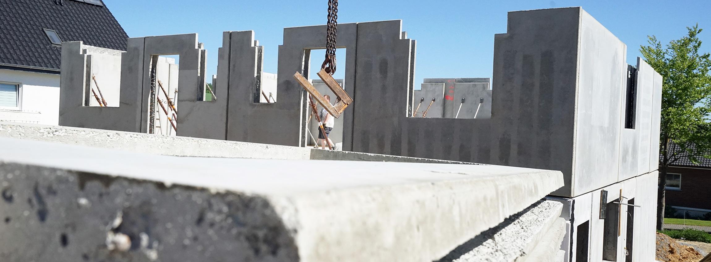 Pauli Betonfertigteile für Häuser und Industriebau